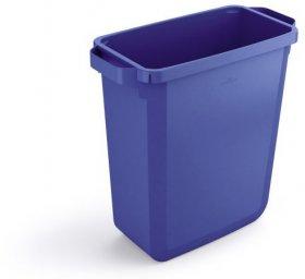 Kosz do segregacji odpadów Durable Durabin, 60l, niebieski