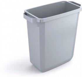 Kosz do segregacji odpadów Durable Durabin, 60l, szary