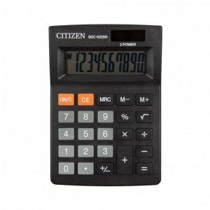Kalkulator biurowy Citizen SDC-022SR, 10 cyfr, czarny