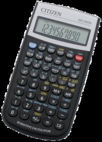 Kalkulator naukowy Citizen SR-260N, 10 cyfr, czarny