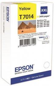 Tusz Epson T7014 (C13T7014), 3400 stron, yellow (żółty)