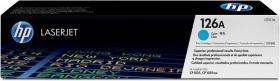 Toner HP 126A (CE311A), 1000 stron, cyan (błękitny)