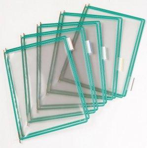 Panele prezentacyjne, Tarifold, A4, 10 sztuk, zielony