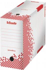 Pudło archiwizacyjne Esselte Speedbox do dokumentów, 150mm, biały