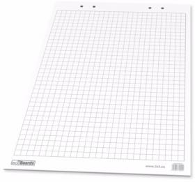 Blok do flipchartów 2x3 Euro, 66x99cm, w kratkę, 20 kart