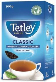 Herbata czarna liściasta Tetley Classic, 100g