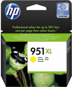 Tusz HP 951XL (CN048AE), 1500 stron, yellow (żółty)