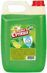 Płyn do naczyń Gold Drop, cytrynowy, 5l