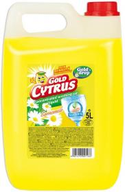 Płyn do naczyń Gold Cytrus Gold Drop, rumiankowy, 5l