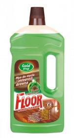 Płyn do mycia podłóg Gold Drop Floor, z olejkiem sosnowym, 1l