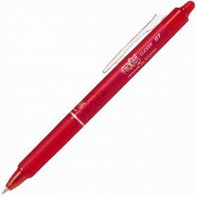 Pióro kulkowe wymazywalne Pilot, Frixion Clicker, automatyczne, 0.7mm, czerwony