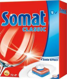 Tabletki do zmywarek Somat Classic 3actions, 72 sztuki