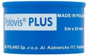 Plaster w rolce Viscoplast Polovis Plus, 2.5cm x 5m