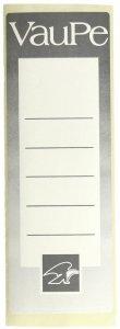 Etykiety do segregatorów VauPe, samoprzylepne, 55x155mm, 25 sztuk