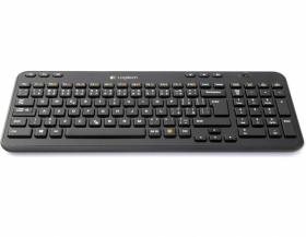 Klawiatura bezprzewodowa Logitech Wireless K360, czarny