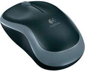 Mysz bezprzewodowa Logitech, M185, optyczna, szaro-czarny