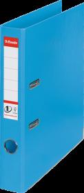 Segregator Esselte No.1 Power, A4, szerokość grzbietu 50mm, do 350 kartek, jasnoniebieski