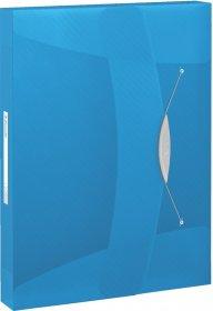 Teczka z gumką Esselte Vivida, A4, 40mm, niebieski