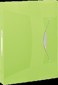 Teczka z gumką Esselte Vivida, A4, 40mm, zielony