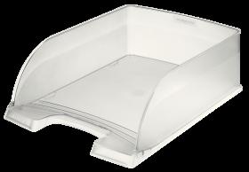 Półka na dokumenty Leitz Plus Jumbo, A4, plastikowa, przezroczysty