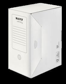 Pudło archiwizacyjne Leitz Infinity 150mm do dokumentów, biały