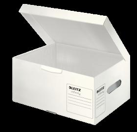 Pudło archiwizacyjne Leitz Infinity, rozmiar S (355x190x255mm), biały