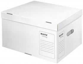 Pudło archiwizacyjne Leitz Infinity, rozmiar L (350x265x420mm), biały