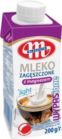 Mleko zagęszczone Mlekovita Wypasione, z magnezem, 2.5%, 200g