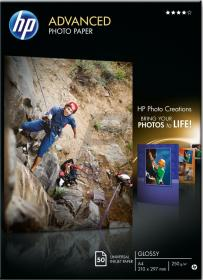 Papier foto HP Advanced Photo Q8698A, A4, 250g/m2, 50 arkuszy, błyszczący