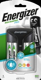 Ładowarka Energizer Pro Charger Power Plus, 2000mAh, 4 kanały, czarny
