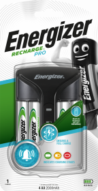 Ładowarka Energizer Pro Charger Power Plus, 2000 mAh, czarny