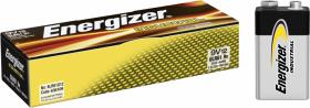 Bateria alkaliczna Energizer Industrial, 9V, 6LR61, 12 sztuk
