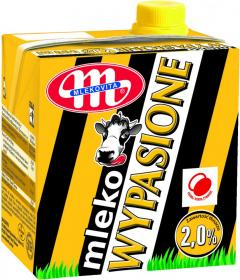 Mleko UHT Mlekovita Wypasione, 2%, 0.5l
