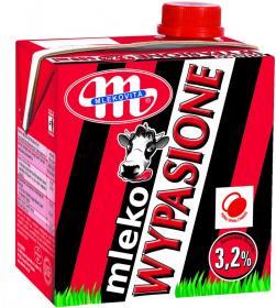 Mleko UHT Wypasione Mlekovita, 3.2%, 0.5l