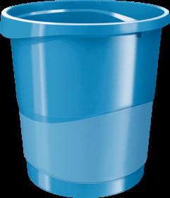 Kosz na śmieci Esselte Europost Vivida, 14l, niebieski