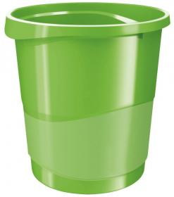 Kosz na śmieci Esselte Europost Vivida, 14l, zielony