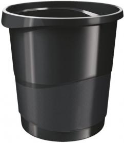 Kosz na śmieci Esselte Europost Vivida, 14l, czarny