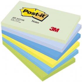 Karteczki samoprzylepne  Post-it Paleta Marzycielska, 76x127mm, 6x100 karteczek, mix kolorów