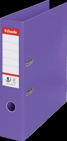 Segregator Esselte No.1 Power, A4, szerokość grzbietu 75mm do 500 kartek, fioletowy