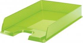 Półka na dokumenty Esselte Europost, A4, plastikowa, zielony