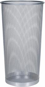 Stojak na parasole Q-Connect, metalowy srebrny