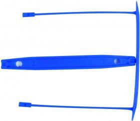 Klips archiwizacyjny Q-connect, 9 cm, 1 sztuka, niebieski