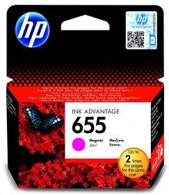 Tusz HP, CZ111AE, nr 655, 600 stron, magenta (purpurowy)
