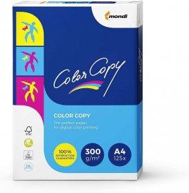 Papier satynowany Mondi Color Copy, A4, 300g/m2, 125 arkuszy, biały
