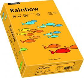 Papier ksero Rainbow Papyrus, A4, 80g/m2, jasny pomarańczowy (R22)
