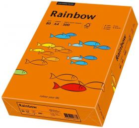 Papier ksero Rainbow Papyrus, A4, 80g/m2, pomarańczowy ciemny(R26)