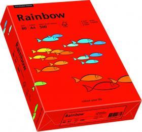 Papier ksero Rainbow Papyrus, A4, 80g/m2, 500 arkuszy, czerwony (R28)