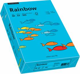 Papier ksero Rainbow Papyrus, A4, 80g/m2, 500 arkuszy niebieski (R87)