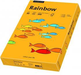Papier ksero Rainbow Papyrus, A3, 80g/m2, 500 arkuszy, jasny pomarańczowy (R22)