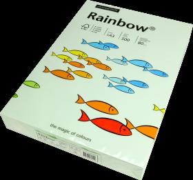 Papier ksero Rainbow Papyrus, A3, 80g/m2, 500 arkuszy, jasny zielony (R72)